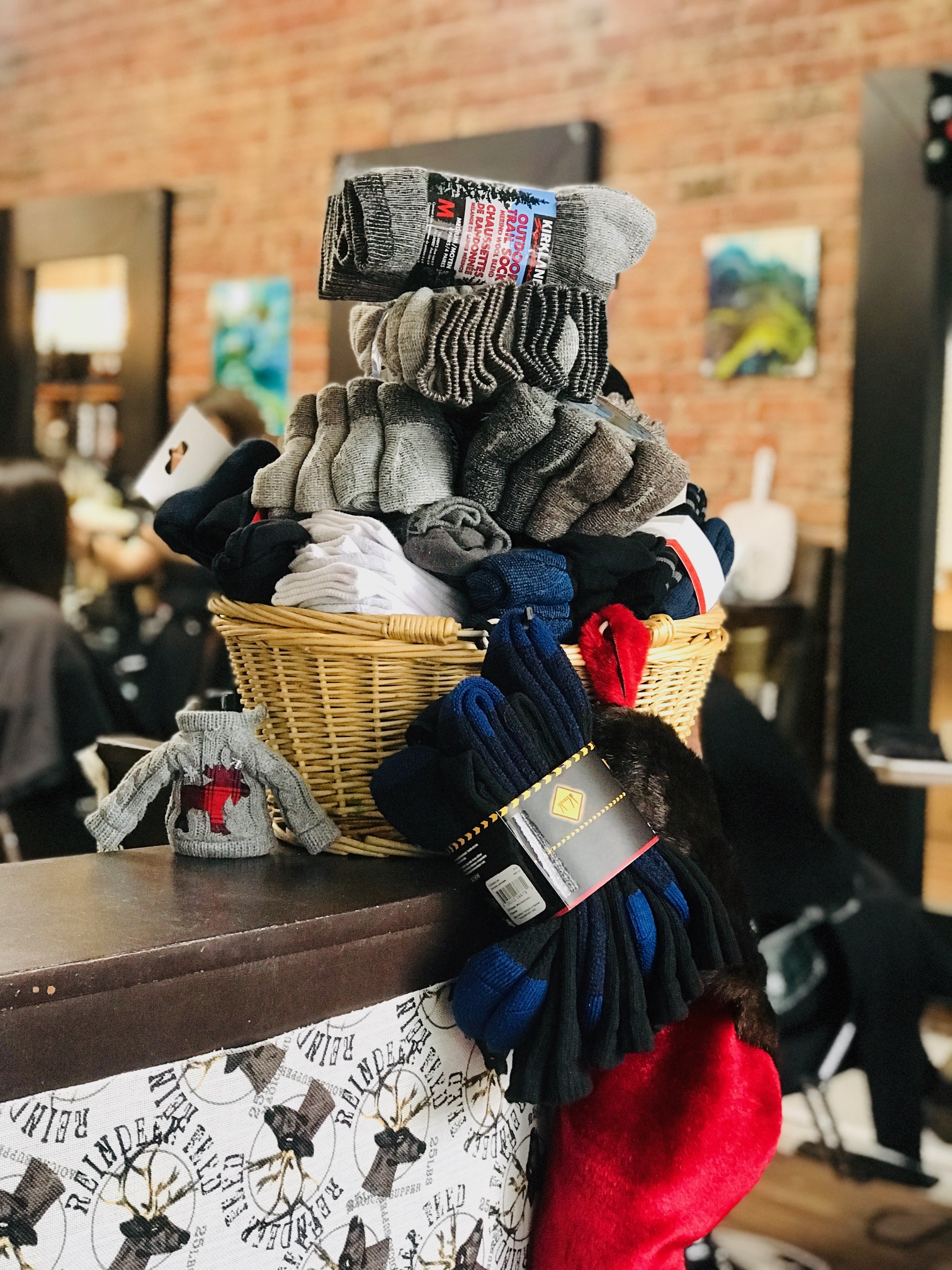 Sock Drive! - We are so thankful to all of our clients who have been bringing in socks for our sock drive! Keep them coming! There is still another week to contribute. On Dec 22 we will bring the socks to a local shelter. Thank's for your support!!