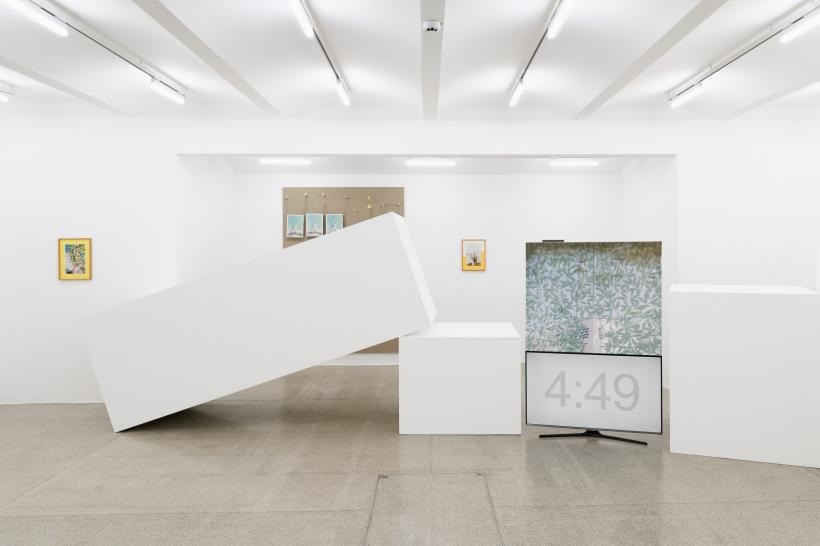 Title : Philipp Timischl, Artworks For All Age Groups, exhibition view Secession 2018 Website : https://www.secession.at/en/ Credit : Photo: Maximilian Anelli-Monti, Courtesy of the artist and Galerie Emanuel Layr