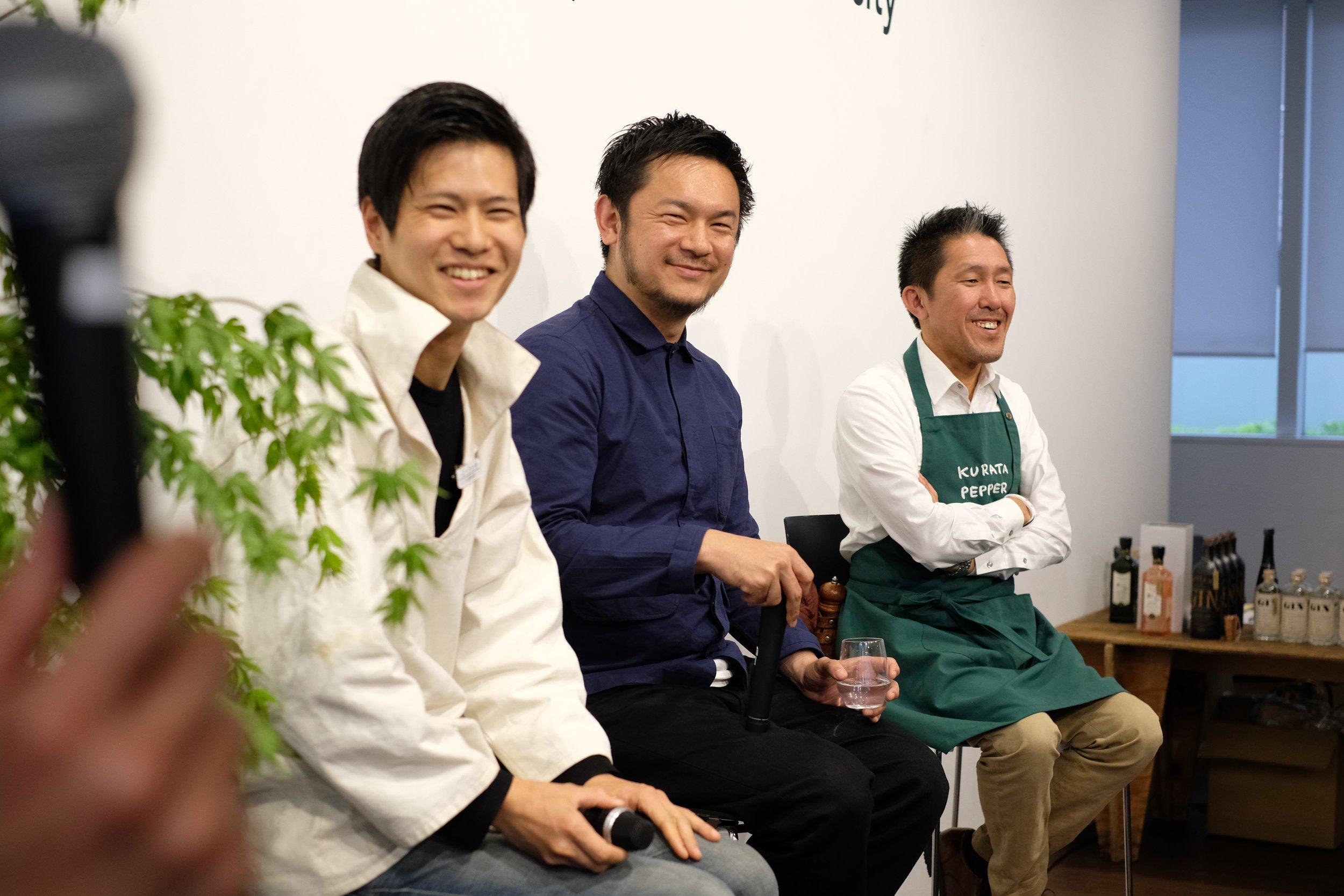 青山ファーマーズマーケット NORAH TALK クラタペッパー 伊良コーラ  Minimal チョコレート