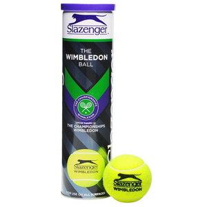 Slazenger Tb Wimbledon 4Tin Tube de 4 balles