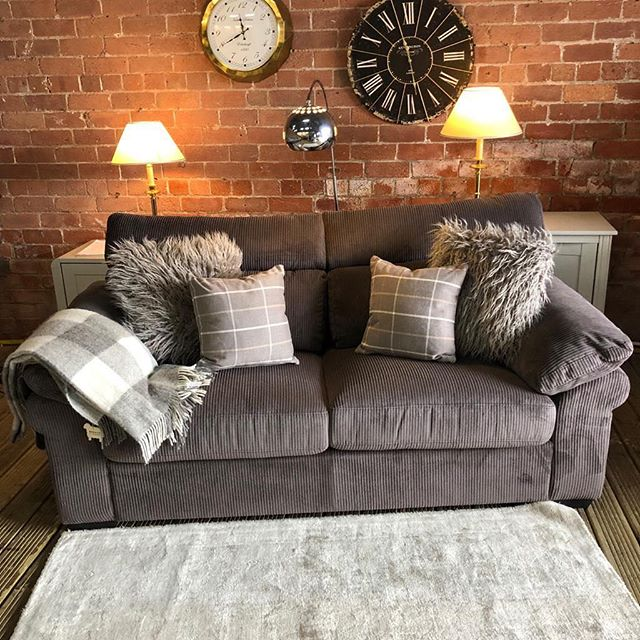 ⚡️STUNNING DARK GREY CHORD⚡️ 🙌🏻HARVEYS THREE SEATER🙌🏻 🌟🌟A STEAL AT £299 RRP £750🌟 ⏰🚀ORDER TODAY, DELIVERED TODAY⏰ 🎉SHOP OUR FACEBOOK / INSTAGRAM 🎉#yorkshire #cosychair #loveleeds #sofashop