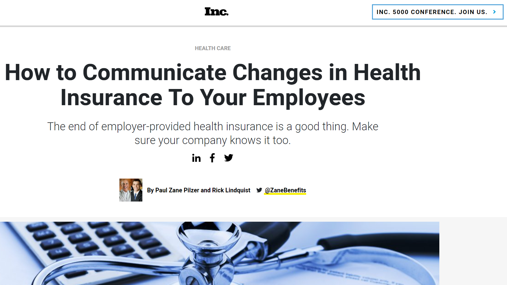 How to Communicate Changes in Health Insurance To Your Employees