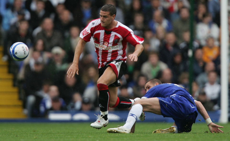 Billy Sharp during his second stint at Bramall Lane