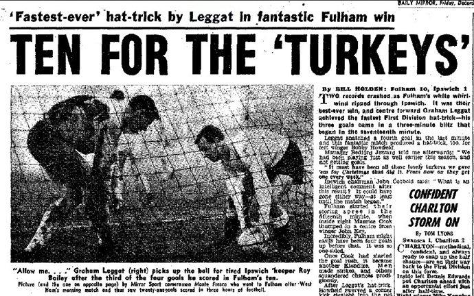 The Daily Mirror's report from Fulham 10-1 Ipswich Town
