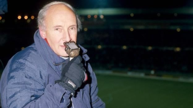 """""""EACH GENERATION GETS THE COMMENTATOR IT DESERVES"""" - BARRY DAVIES"""