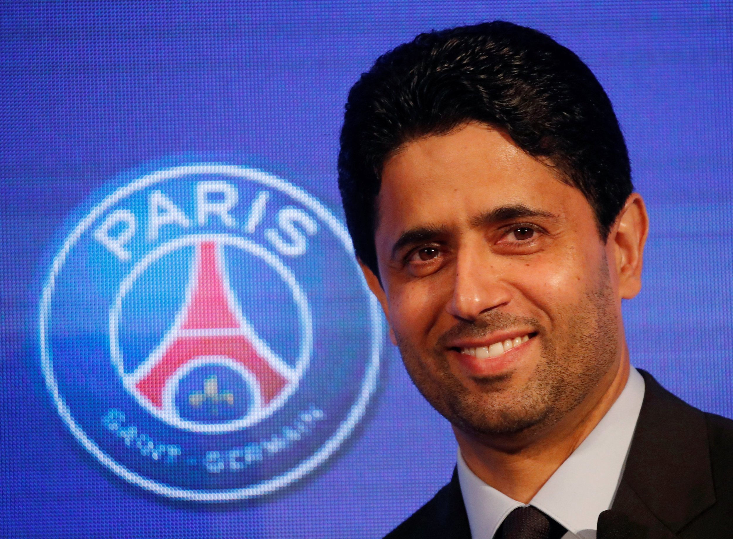 Nasser Al-Khelaifi - chairman of Qatar Sports Investments and president of Paris Saint-Germain who have been investigated for breaches of Financial Fair Play (FFP) regulations.