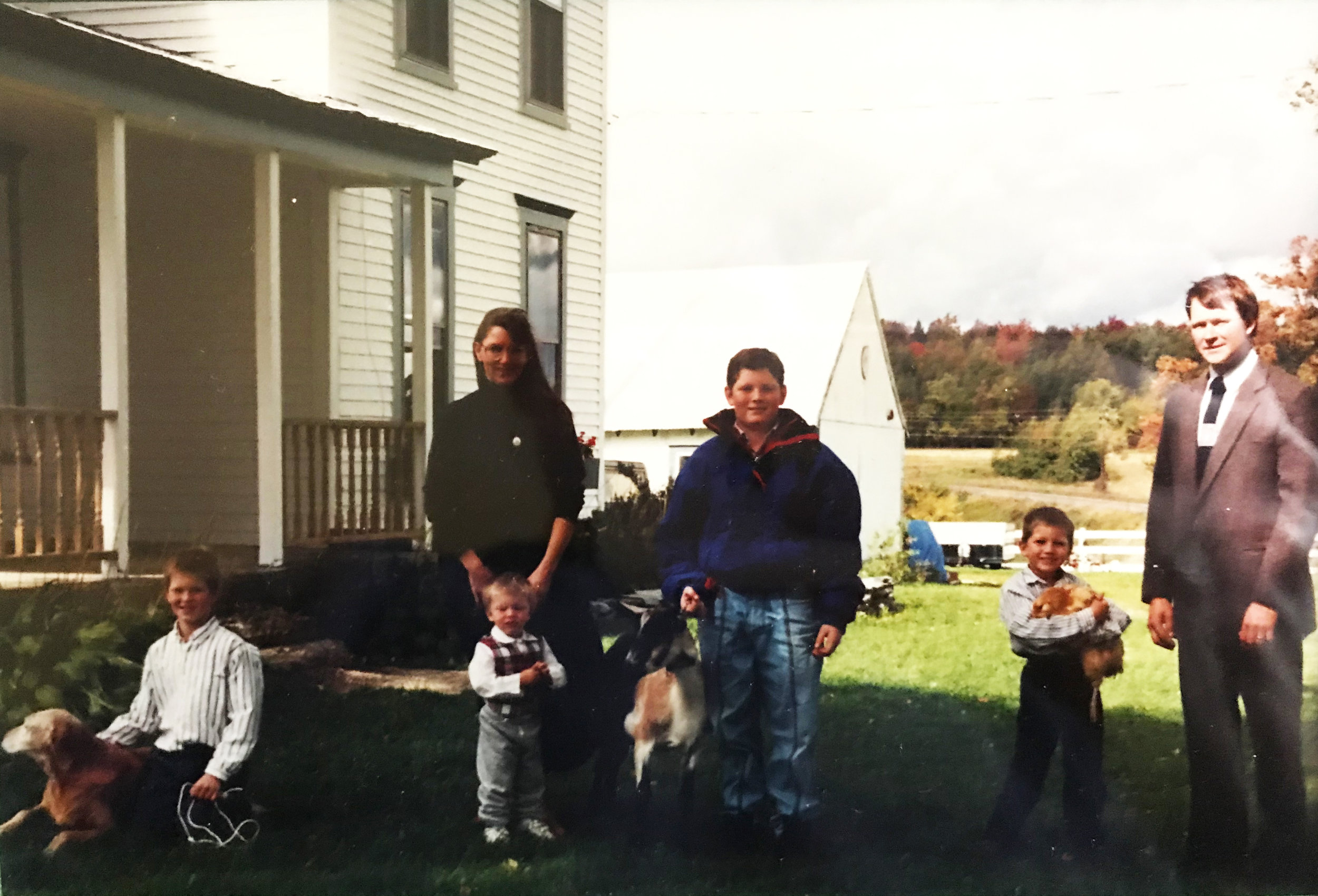 The Jasikoff Family, 1993.