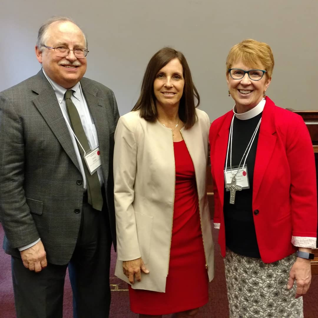 Hill visit with Senator Martha McSally about climate and natural disasters.