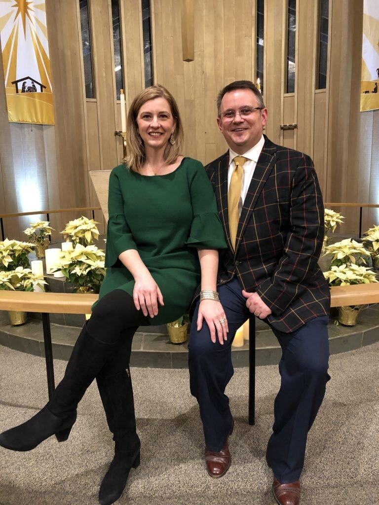 Pastor Ben with his wife, Rachel
