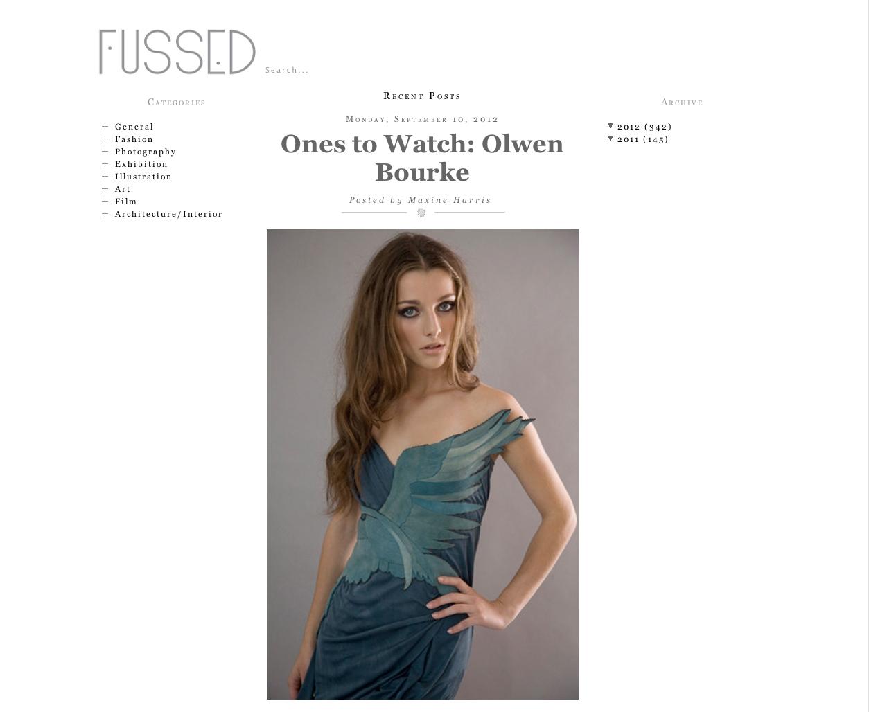 Fussed magazine