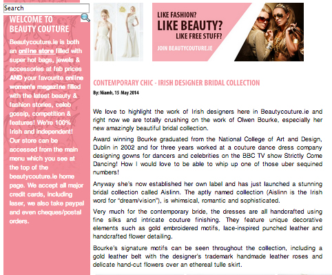 Beauty Couture magazine