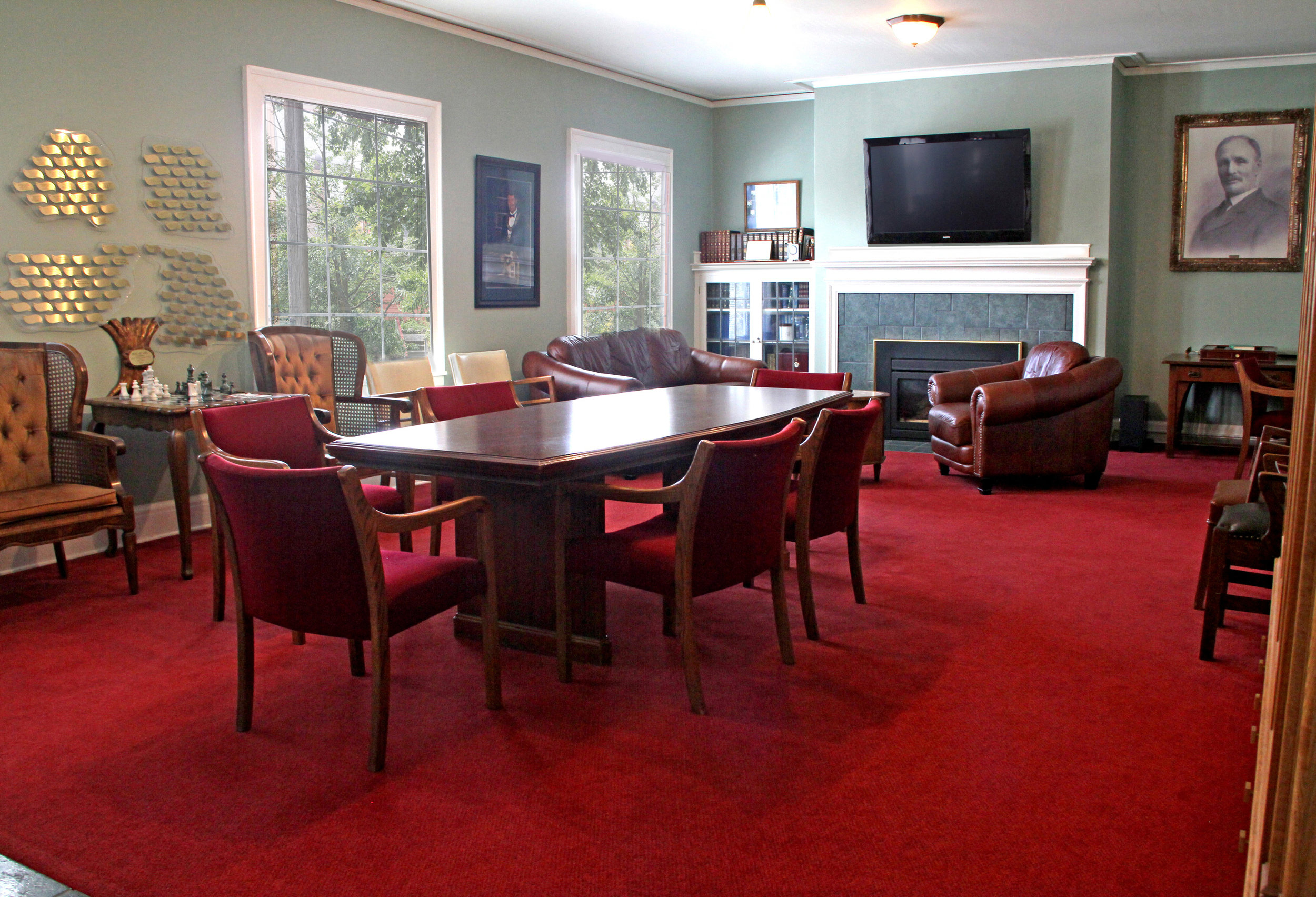 - Take advantage of our executive boardroom for your next meeting.