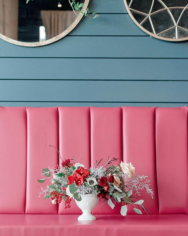 Pink isn't just a color, it's an attitude. . .  Design & Styling: @sierrastormphoto Coordination & Styling: @daniellenicholepdx Venue: @saintirenes Models: @botanicalbeautypdx  Florals: @lindsayhelzer Cake: @customcakesbykrystle Stationary: @lettersanddust