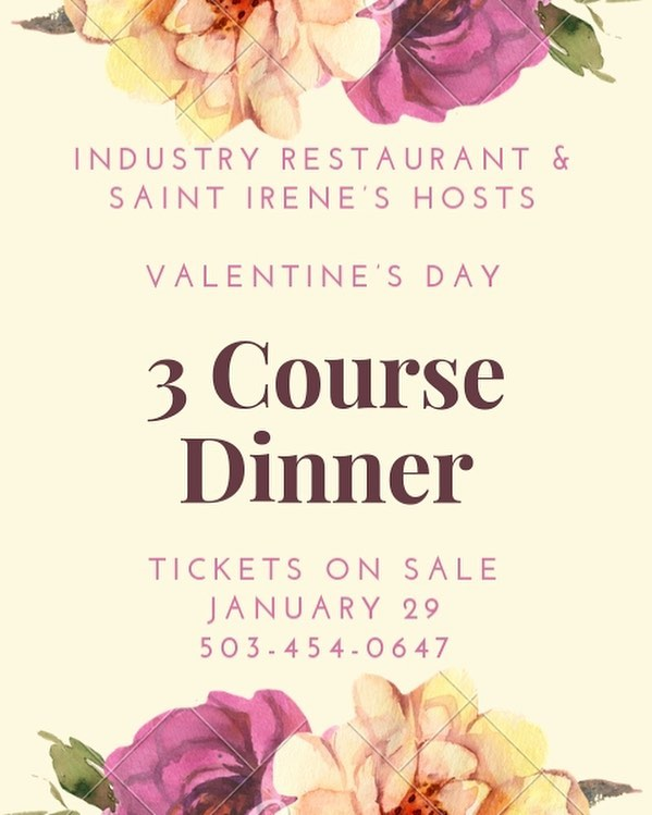 Love isn't what you say- it's what you do. Give us a call and come celebrate your loved ones with us. Tickets go on sale tomorrow 💕
