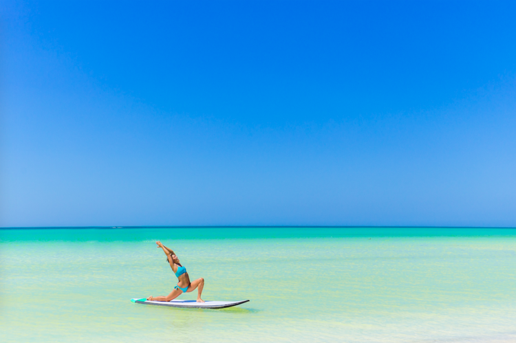 The 10 Benefits of  Stand Up Paddleboarding