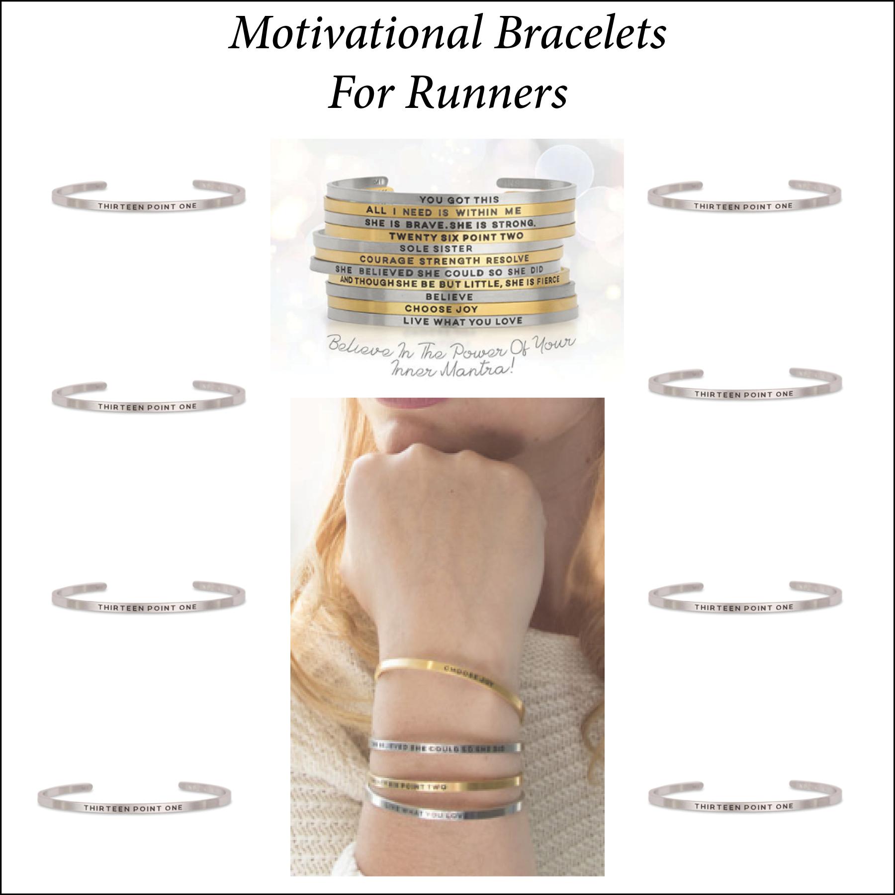 Motivational Bracelets