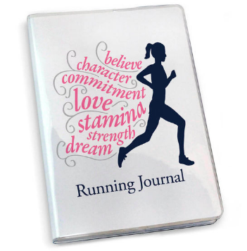 Running Journal - Believe Running Girl