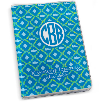 Copy of Running Journal - Shoe Pattern Monogram