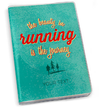 Copy of Running Journal The Beauty In Running Is The Journey