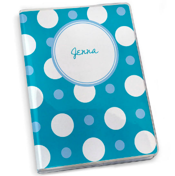 Running Journal - Personalized Polka Dots