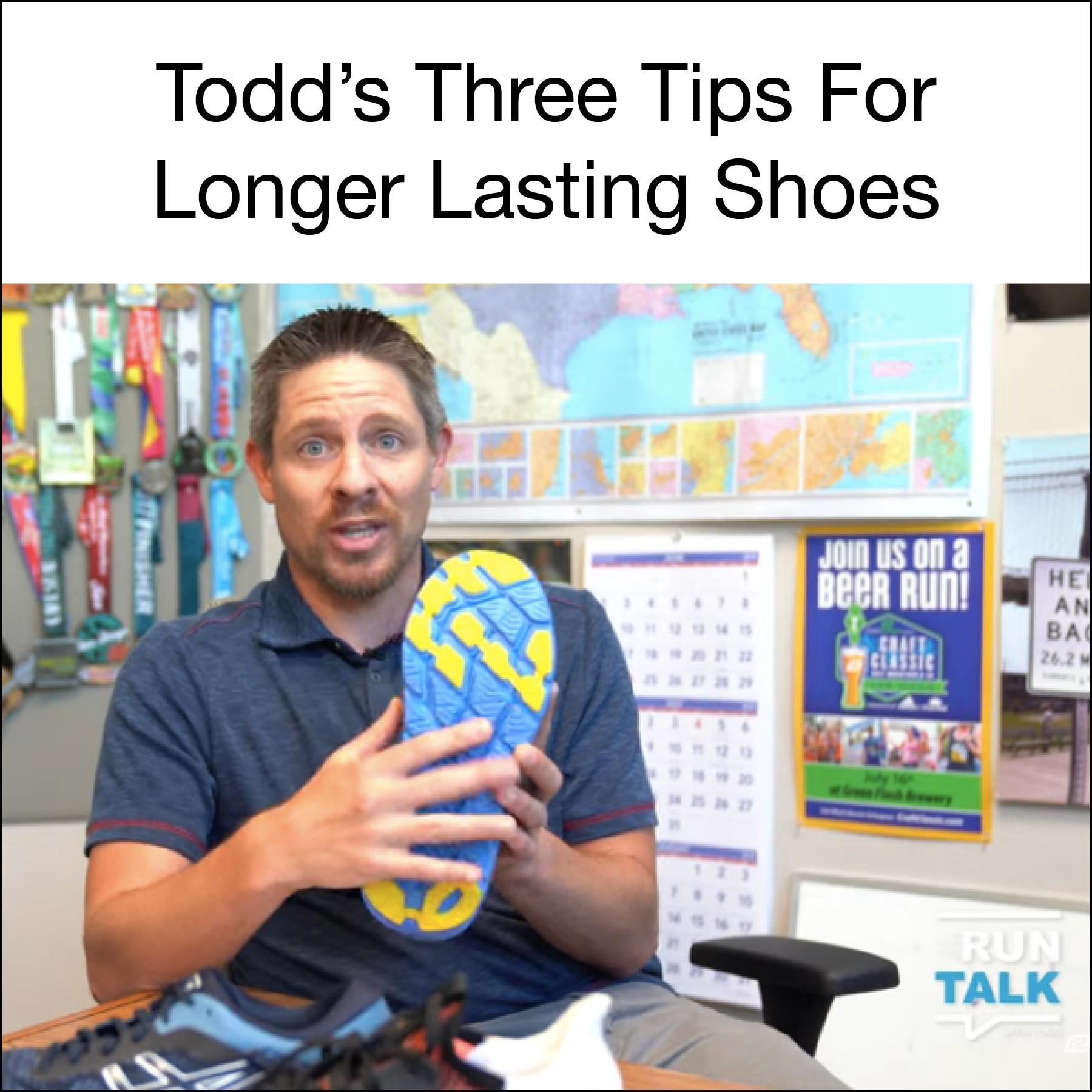3 Tips For Longer Lasting Shoes