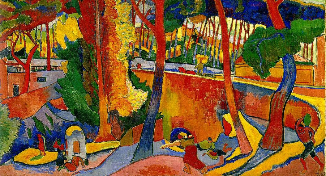 The Turning Road, L'Estaque , Andre Derain, c. 1906