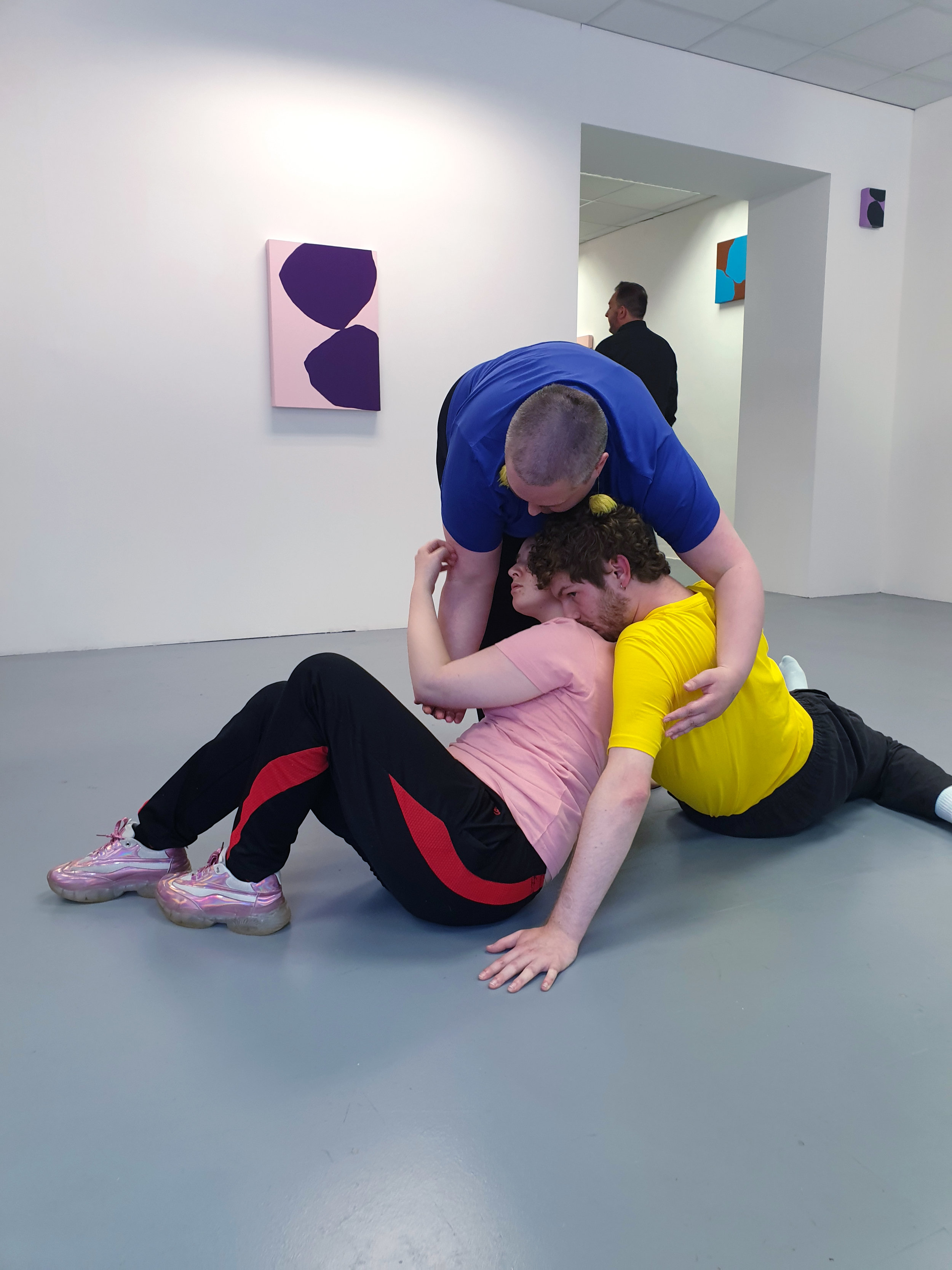 Untitled Performance for 'Somewhere In Between'  Vane, Newcastle, 17.07.19  Performers: Ciara Lenihan, Rhys Patterson, Sarah Grundy Li, John Perangie, Lady Kitt