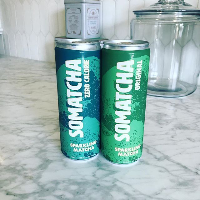 When you very talented friends @chefseis and @lynettesieger create the best tasting matcha drink - you run out and buy more! #somatchalove #somatcha #sparklingmatcha #hookedforlife