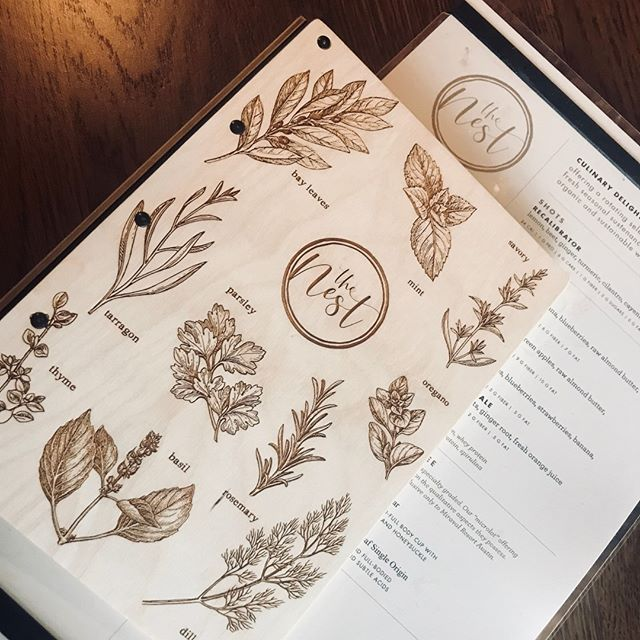 Can't get over these @MiravalResorts menus! #lookforthewasher #tasteenvy #custommenu