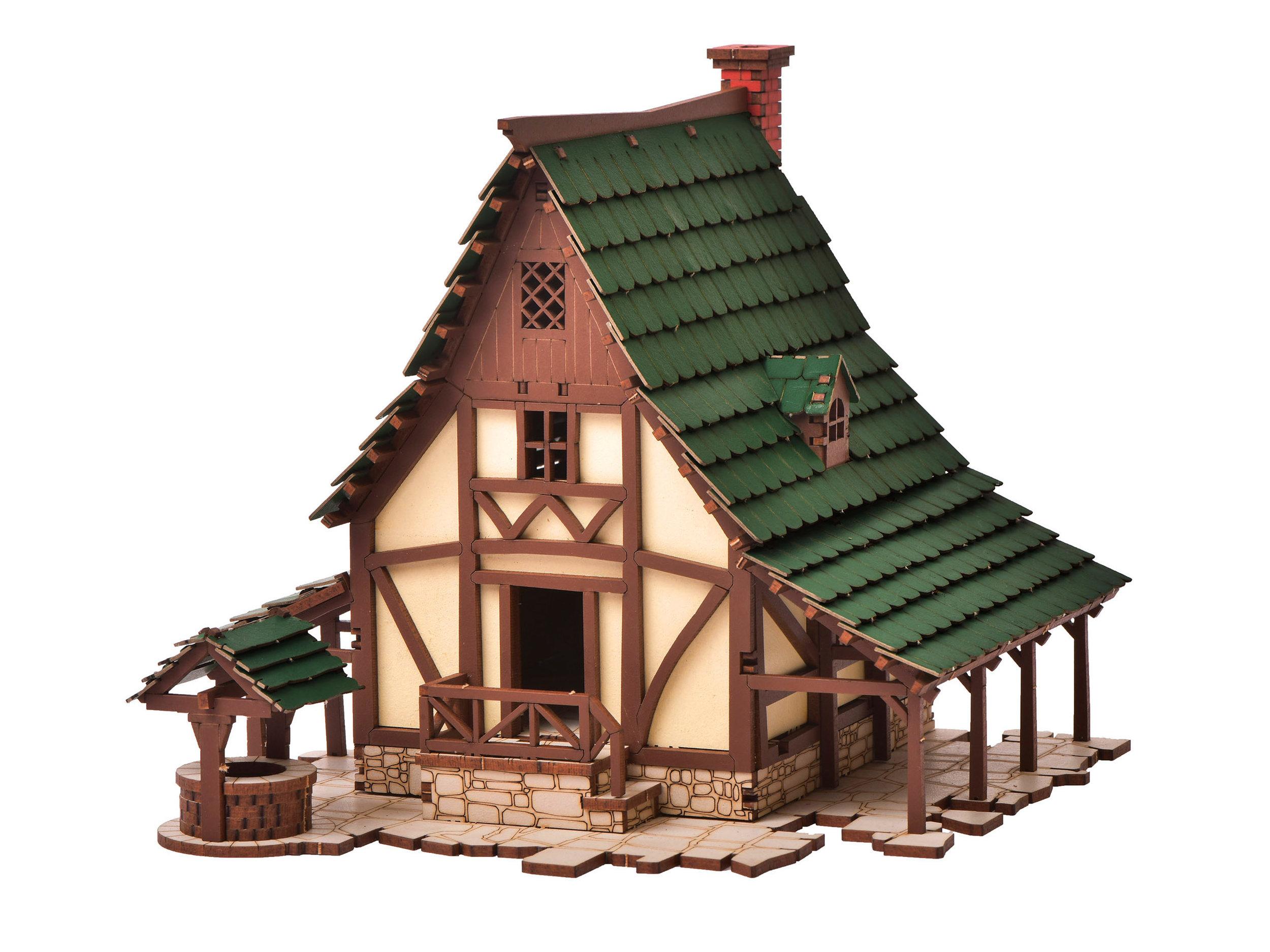Medieval European Rural Peasant Dwelling