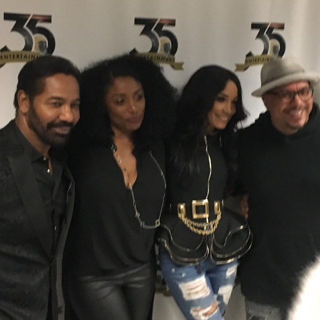 Keith Washington,the beautiful Karen White & of course me & Howard Hewett#greatmusic #Are&Be#fuelup #R&B#all things new