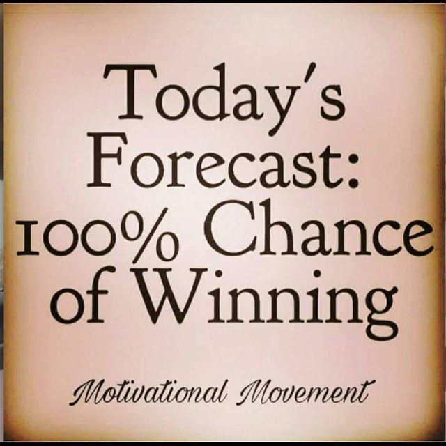 Yes indeed , now get up and win