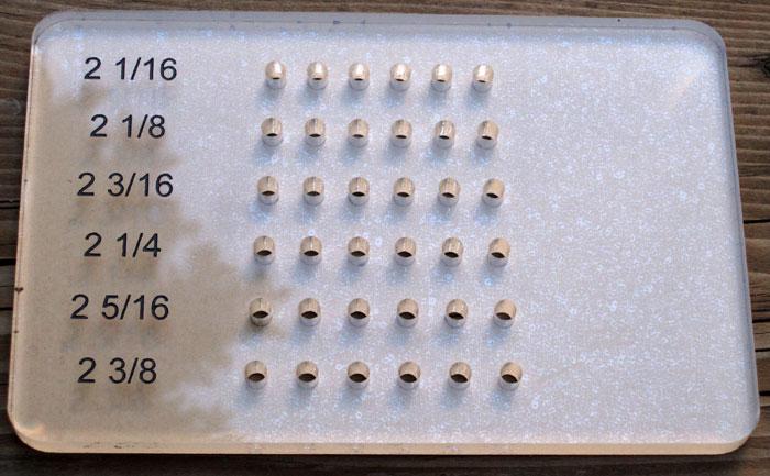 Bridge Pin Drilling Jig -