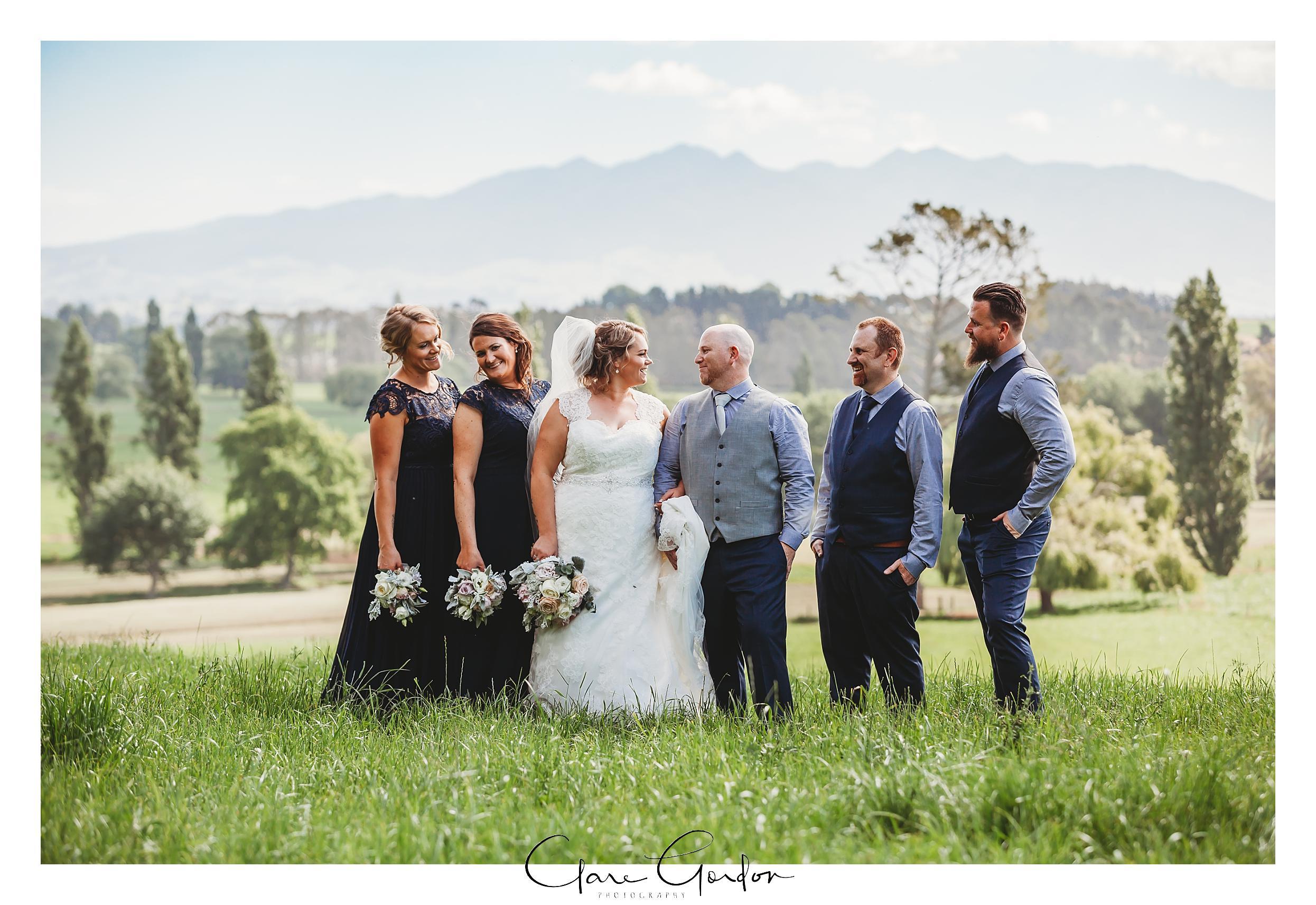 Windy Ridge Wedding photo -bridal party