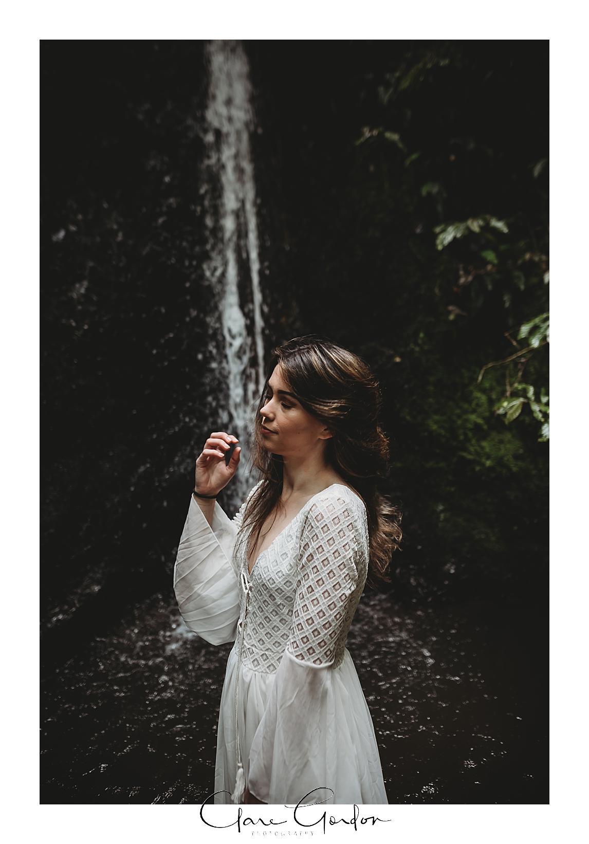 boho-bride-Shoot-Waikato-Wedding-photography-Girl-in Waterfall -New Zealand-wedding (4).jpg
