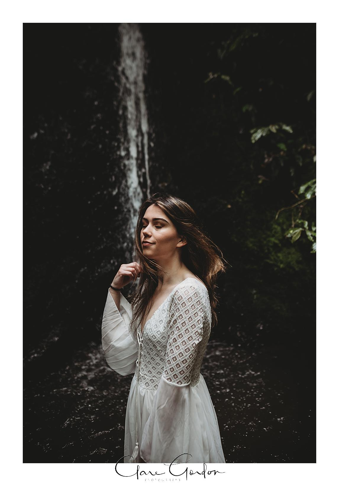boho-bride-Shoot-Waikato-Wedding-photography-Girl-in Waterfall -New Zealand-wedding (5).jpg