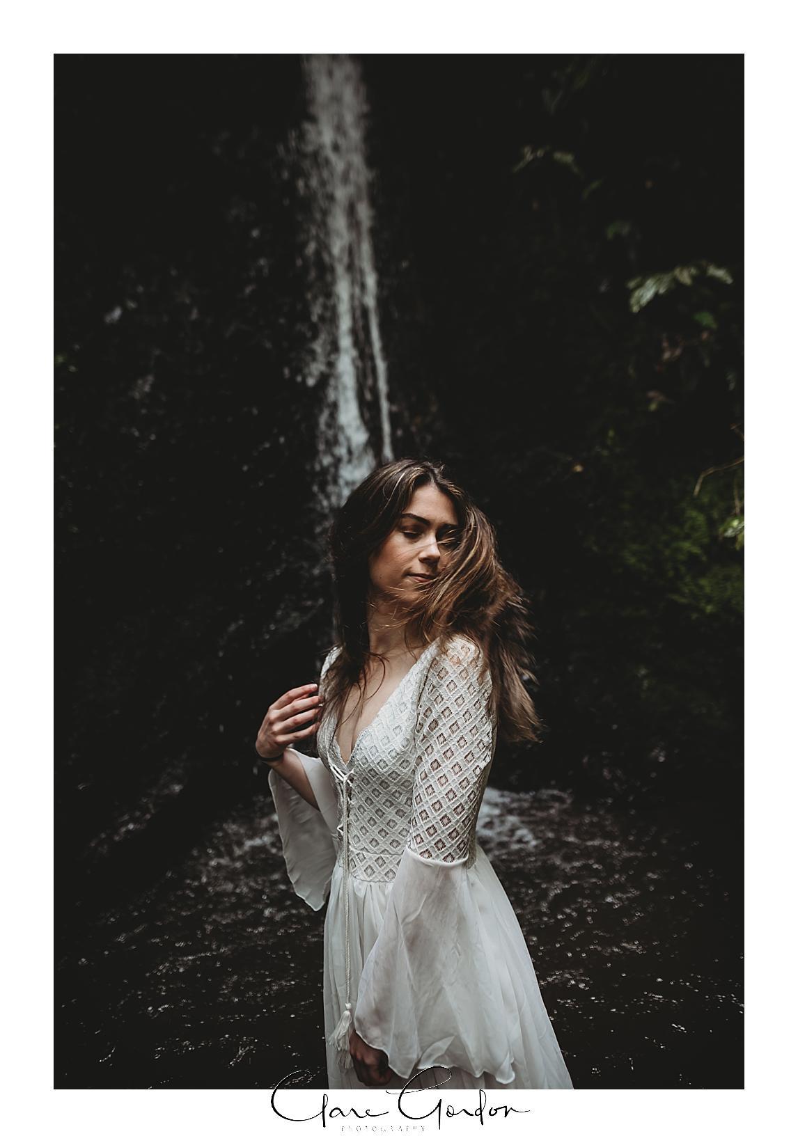 boho-bride-Shoot-Waikato-Wedding-photography-Girl-in Waterfall -New Zealand-wedding (6).jpg