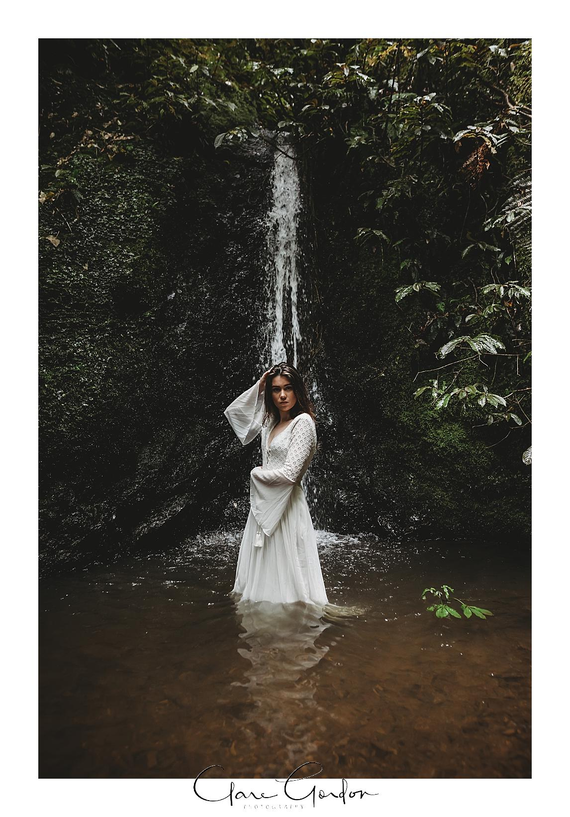 boho-bride-Shoot-Waikato-Wedding-photography-Girl-in Waterfall -New Zealand-wedding (12).jpg