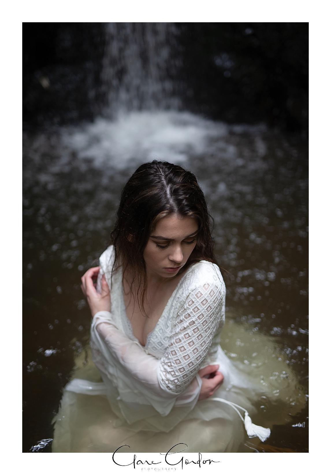 boho-bride-Shoot-Waikato-Wedding-photography-Girl-in Waterfall -New Zealand-wedding (20).jpg