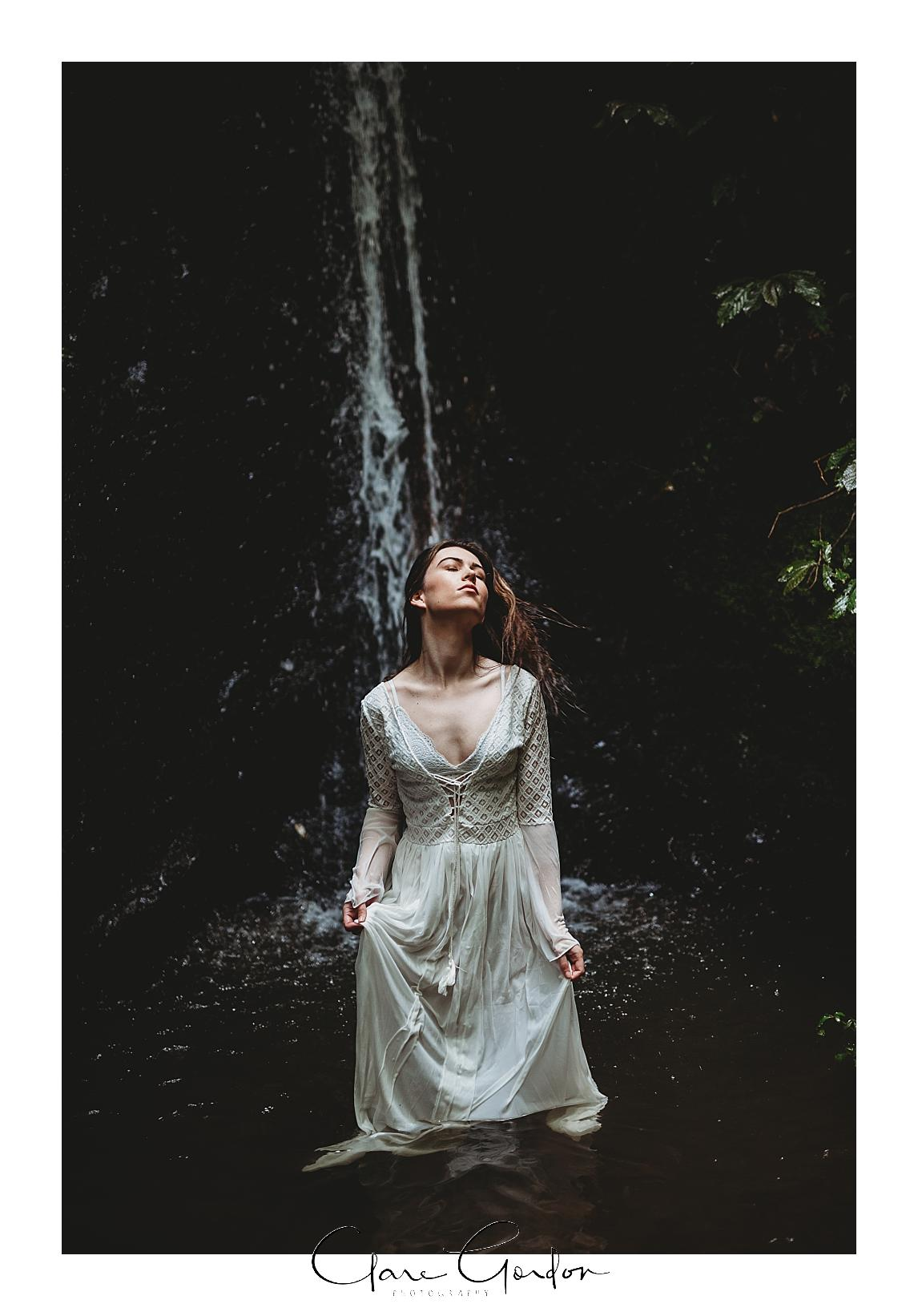 boho-bride-Shoot-Waikato-Wedding-photography-Girl-in Waterfall -New Zealand-wedding (22).jpg