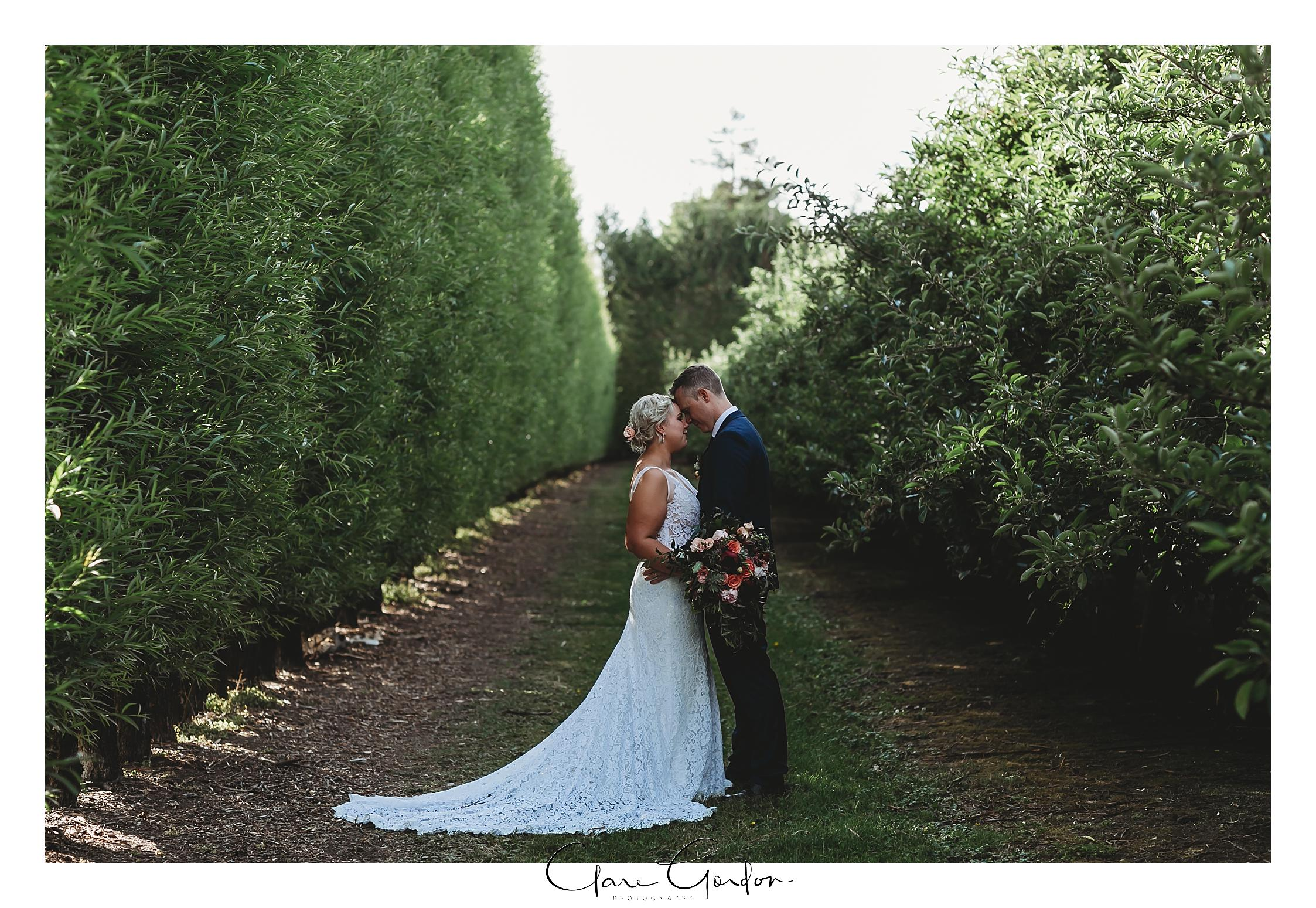 Bride-and-groom-Apple-Orchard-wedding-photo