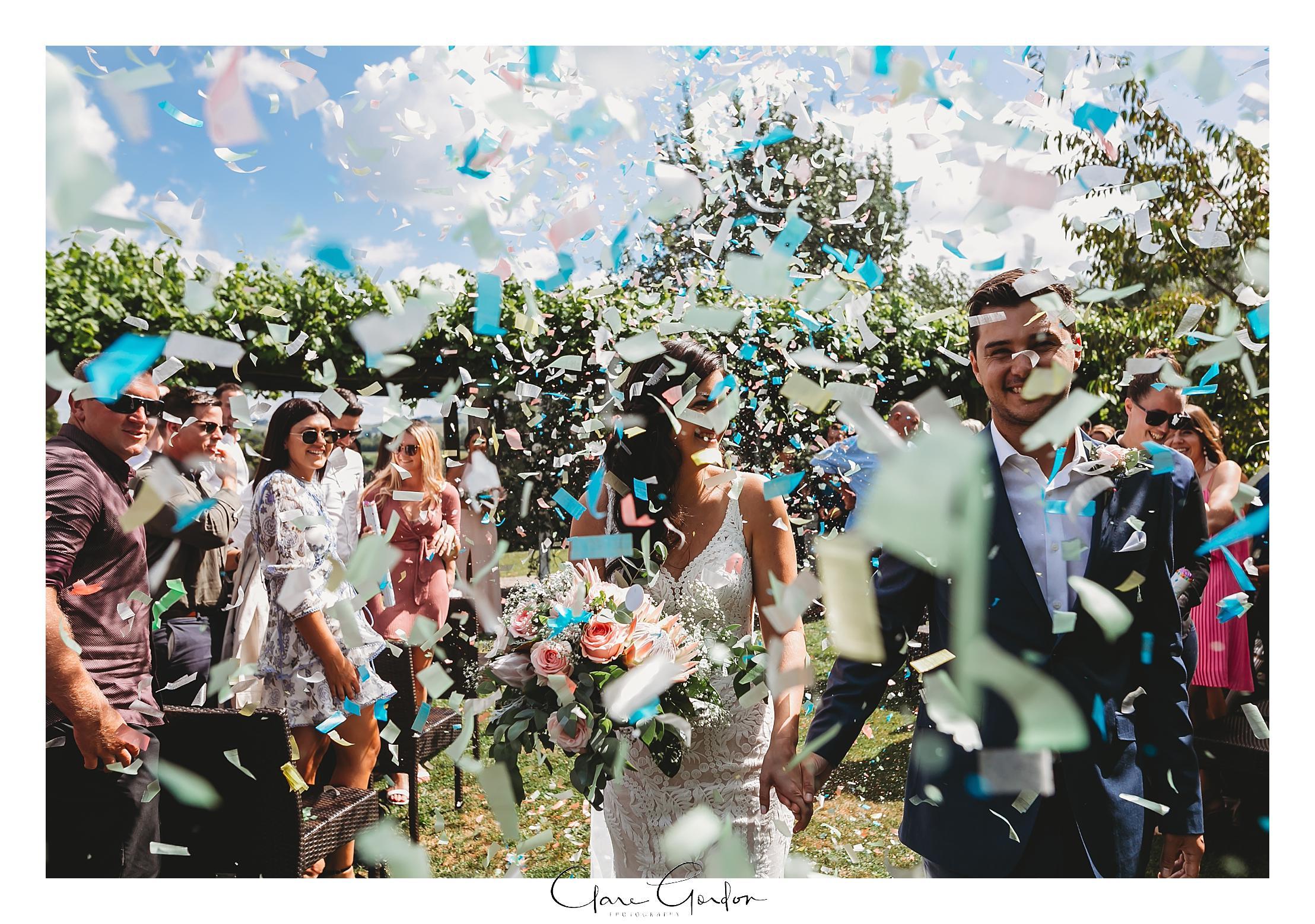 Bride-and-groom-confetti-canon-exit