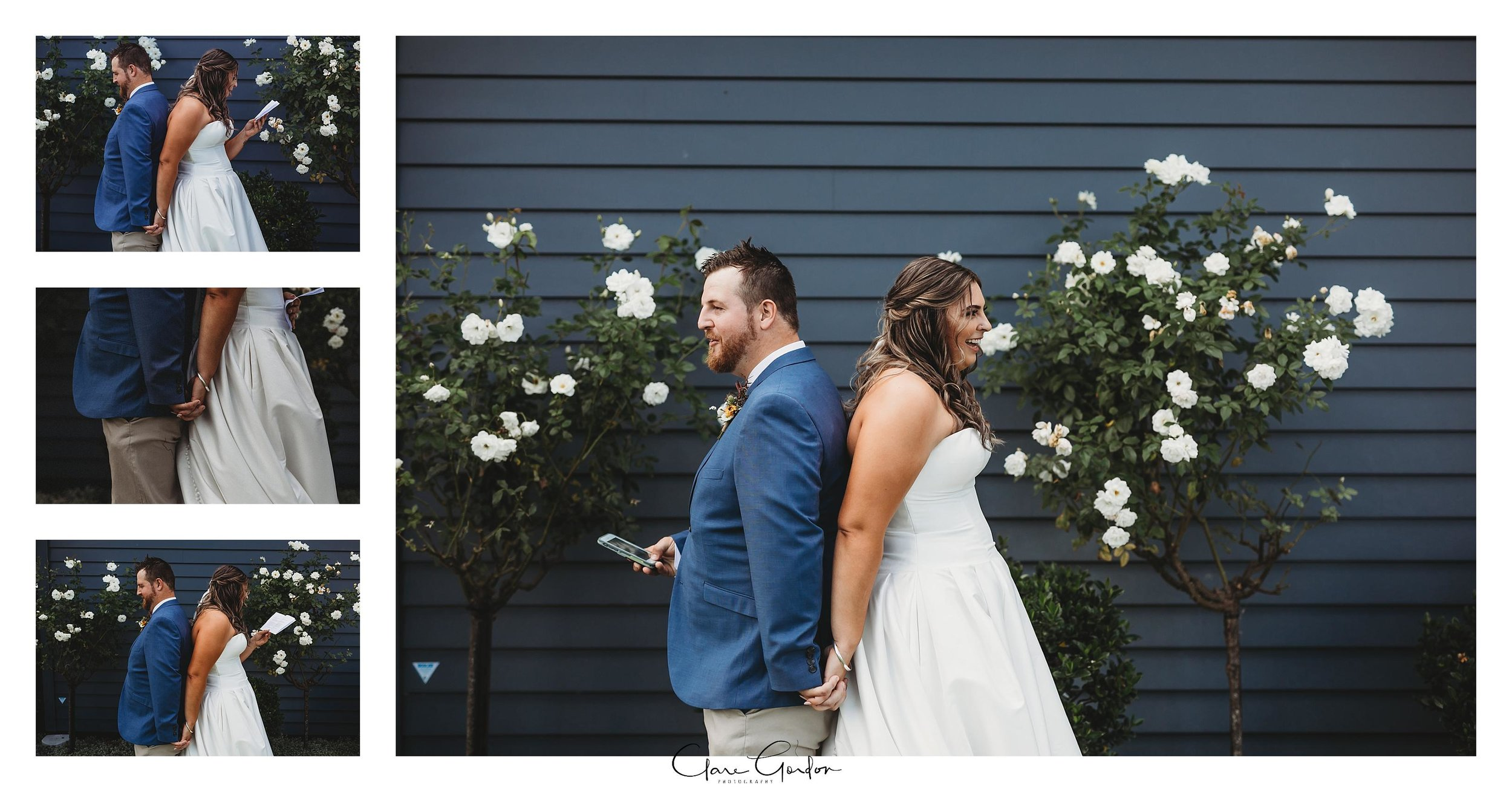 Bride-and-groom-reading-vows-coopers-function-rooms