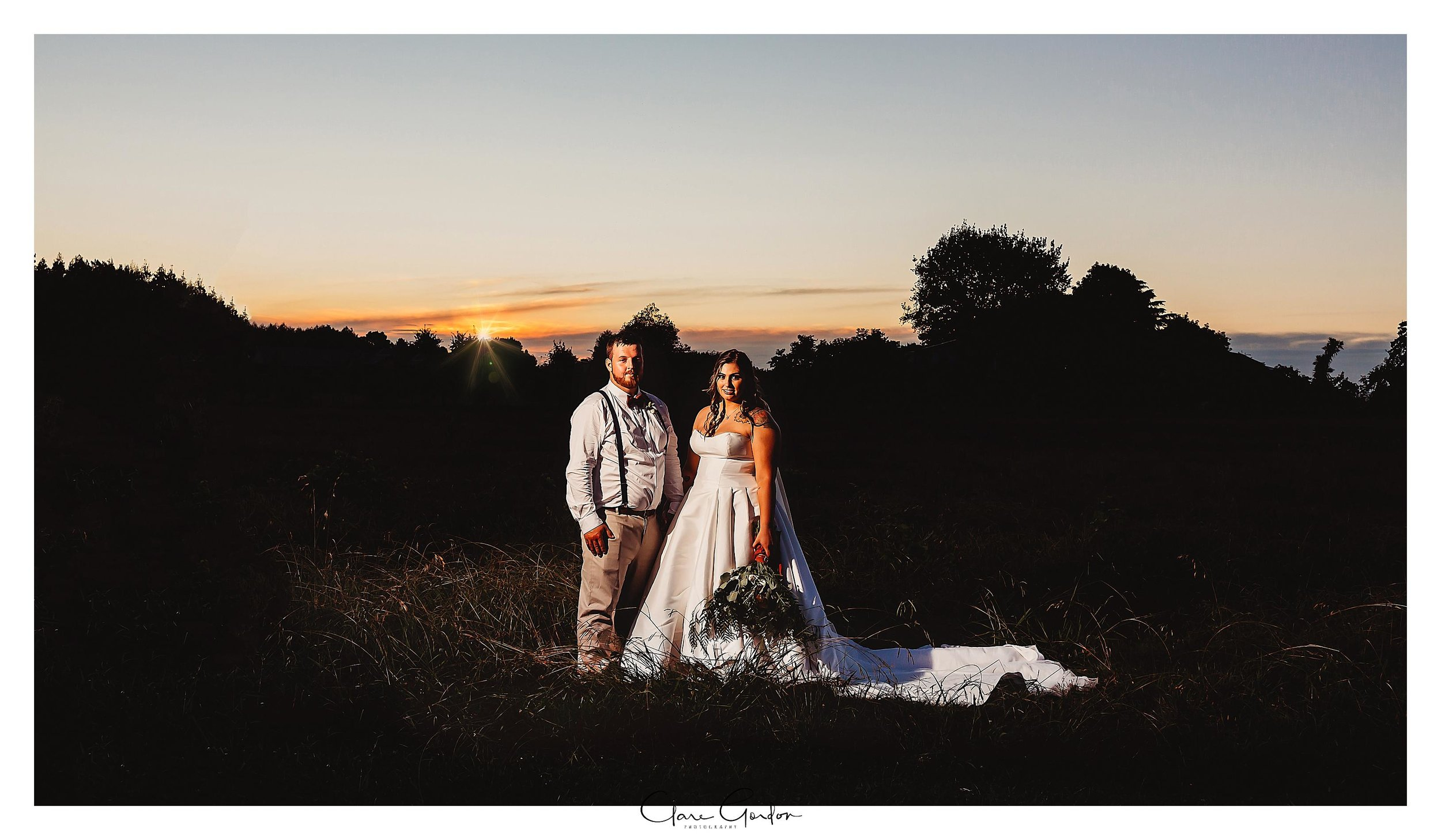 wedding-photo-sunset-coopers-function-rooms-bride-and-groom-Clare-Gordon-photography