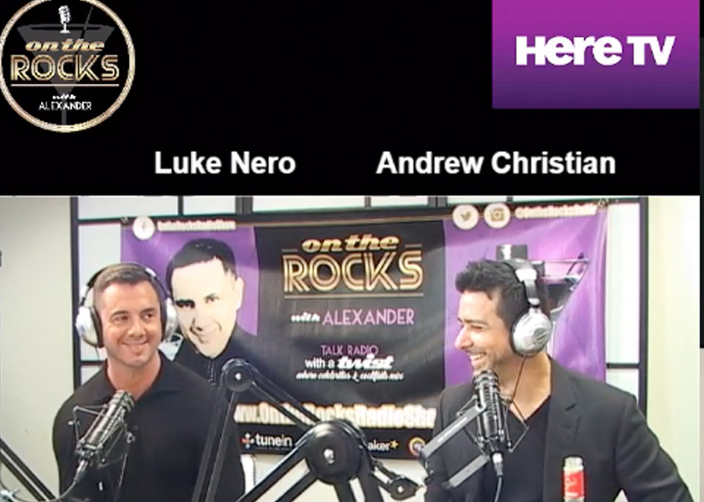 LUKE NERO (STRUT) / JOHN SESSA (VANDERPUMP DOGS) / ANDREW CHRISTIAN (FASHION DESIGNER) - ON THE ROCKS PODCAST