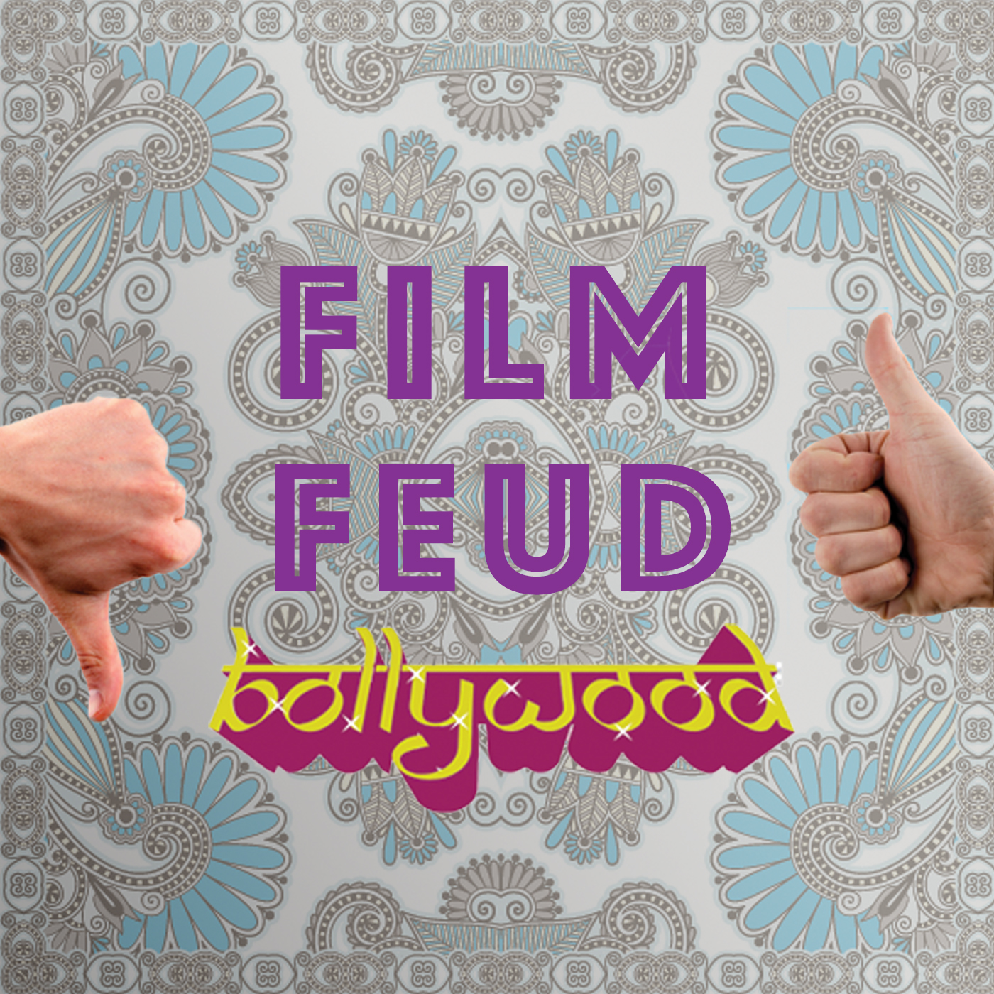 Long time friends become enemies each week as they debate whether a top rated Bollywood film should be top rated or not.  Step 1: Randomly select a top Bollywood movie  Step 2: Toss a coin and assign sides  Step 3: FEUD!