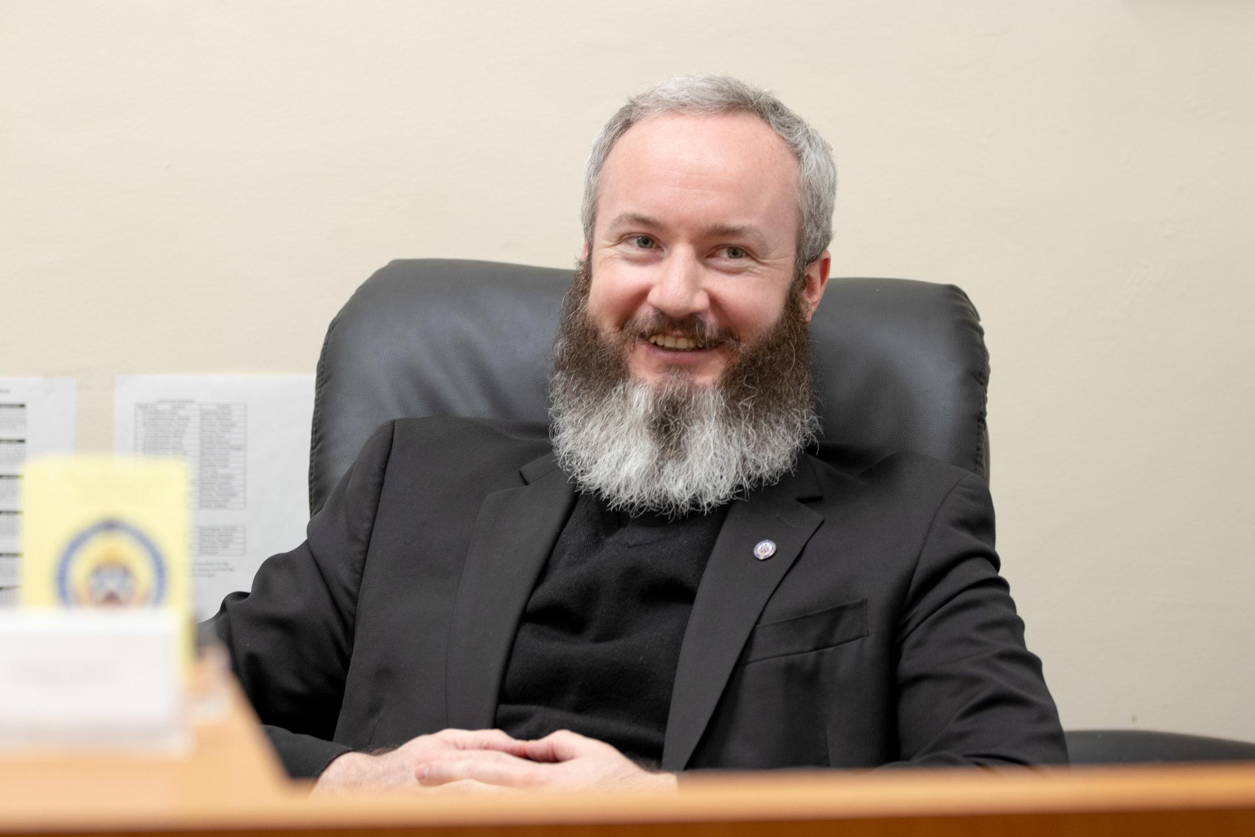 Rev. Daniel O'Mullane: Pastor