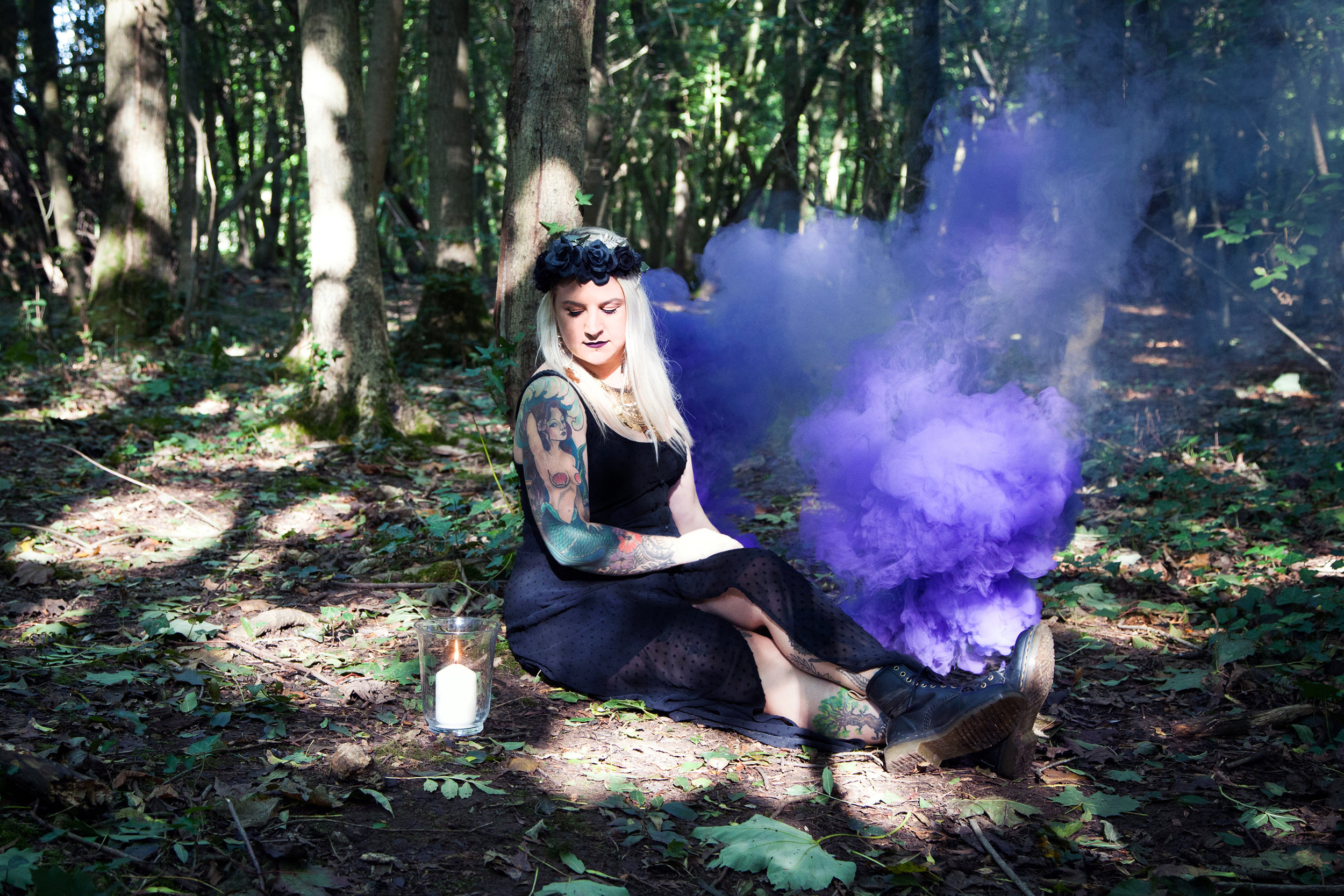 ABOUT THIS WITCH - Katie is the witch behind Urban Witchery. She is an Astrologer and coach for the magically inclined as well as the architect behind the Urban Witchery planner; the essential tool for the modern witch. An urban witch is the name given to witches who live in an urban environment and use modern practices of Witchcraft. Be it in a high-rise flat that towers over the city, in a suburban cul-de-sac, in a quiet town or a manor house; Magick is being made all around us, by Magick makers of all walks of life.