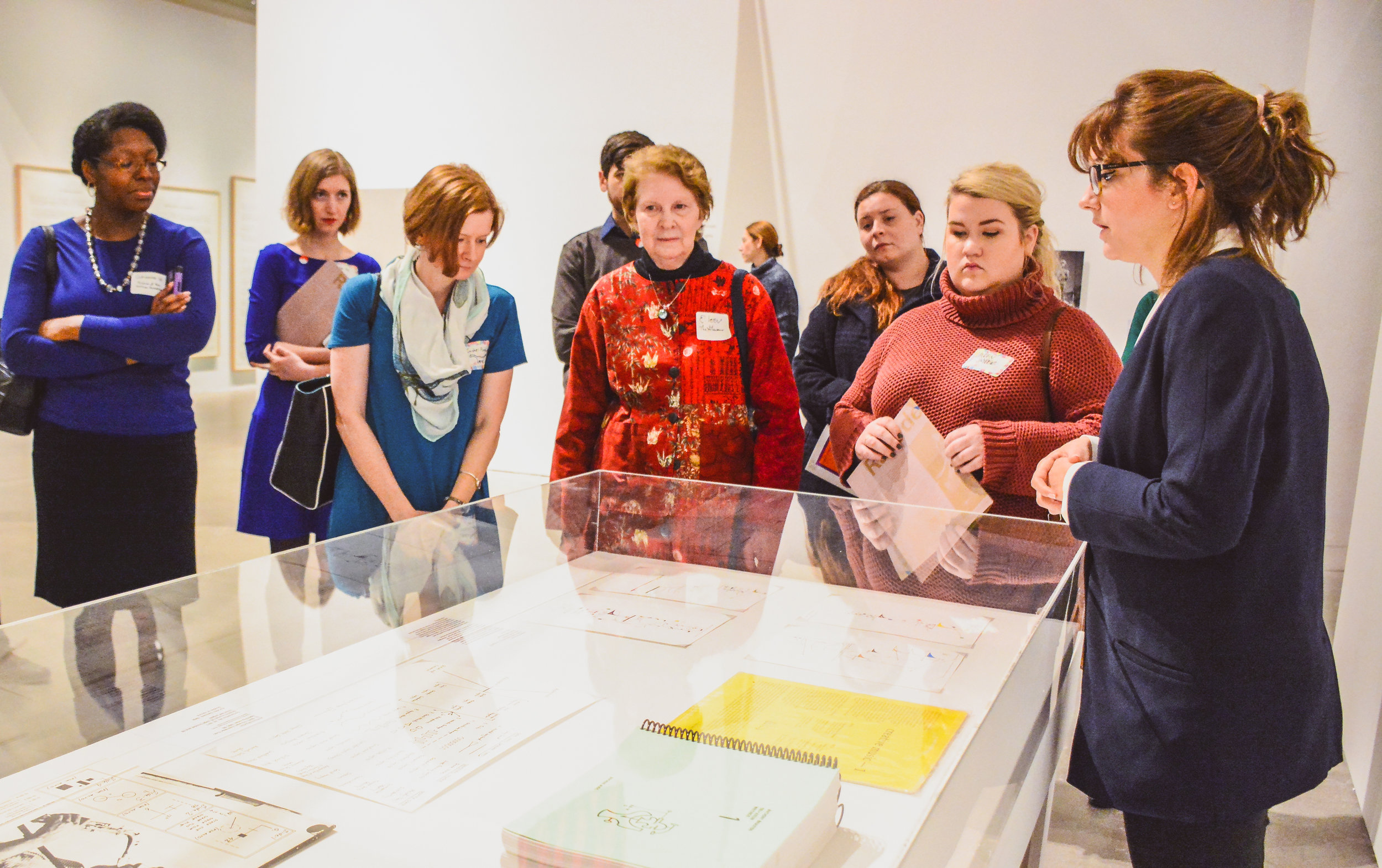 Behind-the-scenes tour at the Institute of Contemporary Art
