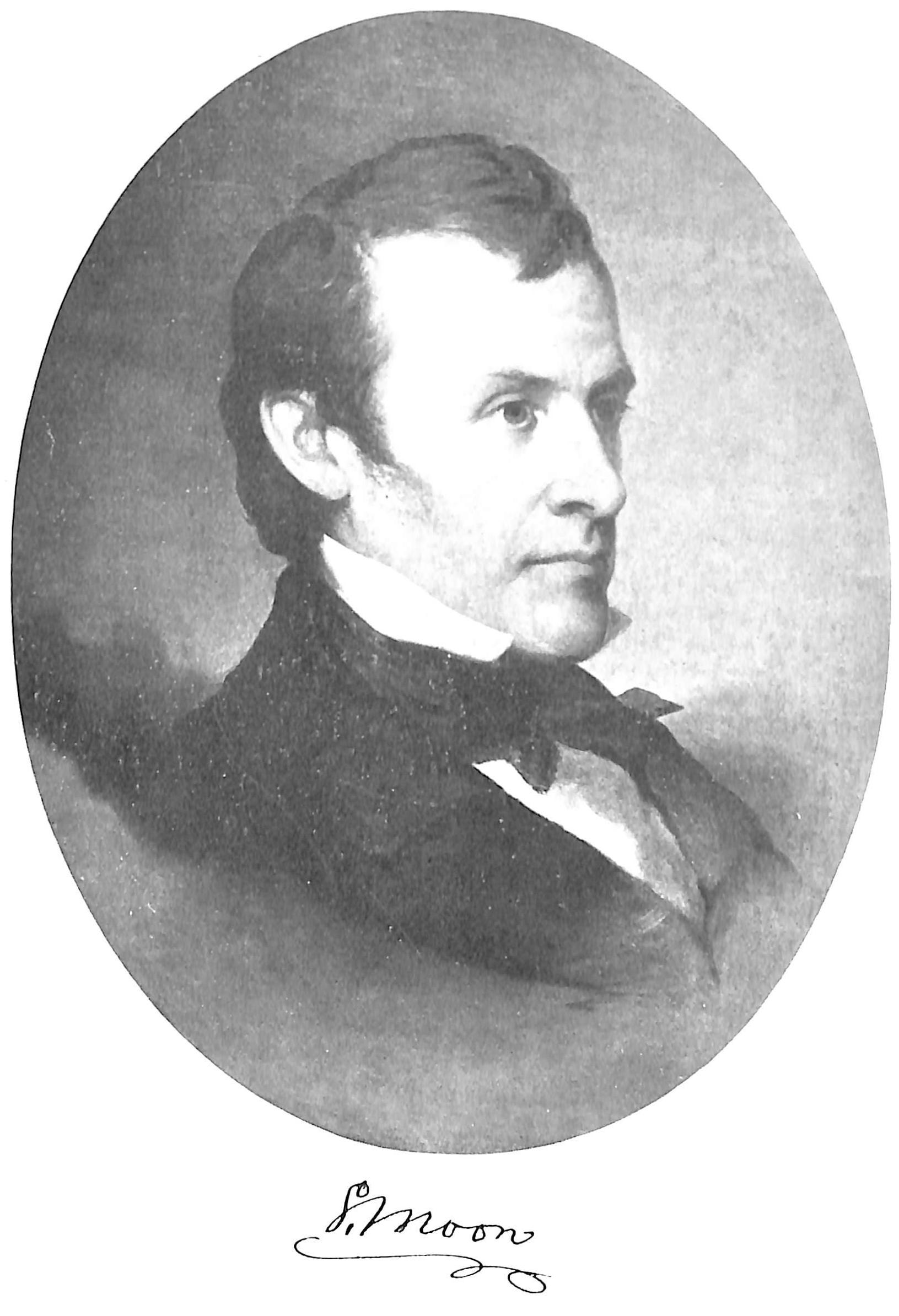 Samuel Moon - Self-taught 19th century artist